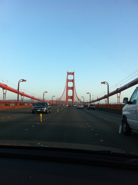 I never tire of this bridge. Ever.