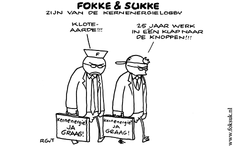 Fokke & Sukke over #japan