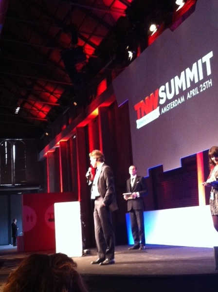 Kick-off of #TNW with @Accenture and @Boris on stage