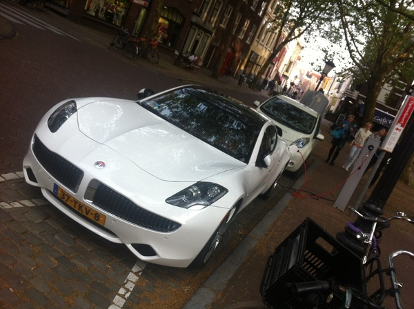 @kimspinder in da house?? #Fisker #ev #Utrecht - Pic taken by @EdgarNeo