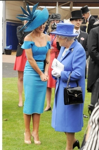 Kat , Queen, and Mark in the background ...Diamond Jubilee . Classic