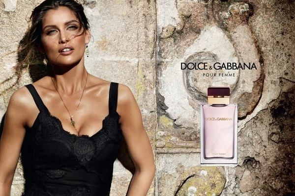 Laetitia Casta in Dolce Gabbana&#039;s &#039;Pour Femme&#039; new ad campaign