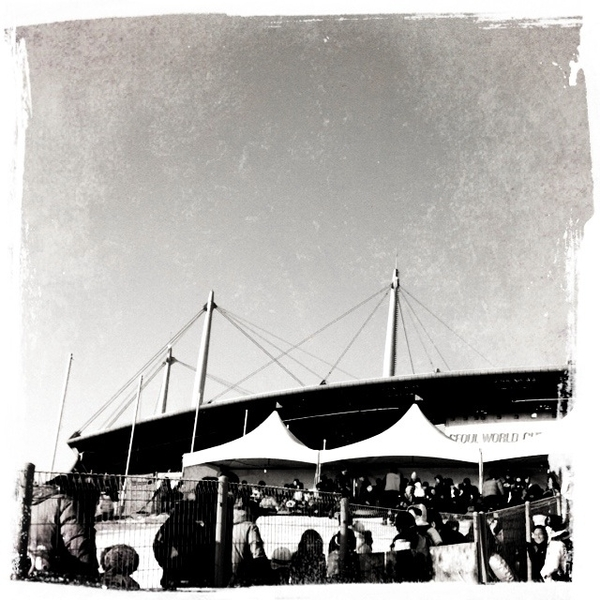 sangam stadium #MagicHour by Suk (jinyoonsuk) on Mobypicture
