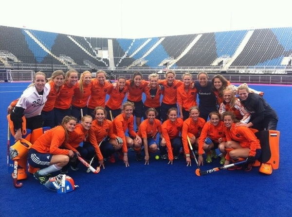 Proud to be part of the dutch Olympic team!!! #ziningoud #london2012