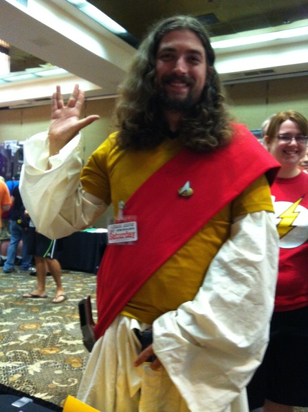 Okay Y'all, this is a first... #STARFLEETJESUS