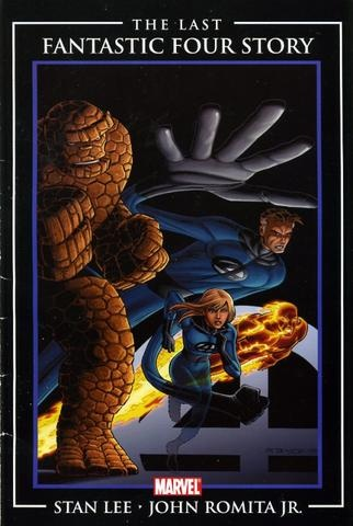 Fantastic Four 'the end' cvr