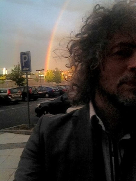 Almost double rainbow in Ostrava!!