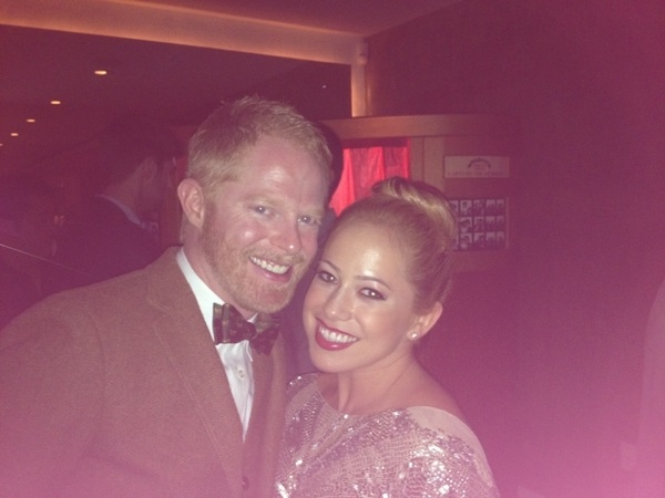 """Cam, jealous much?? Lol @Jessetyler #EWEmmyPreParty"