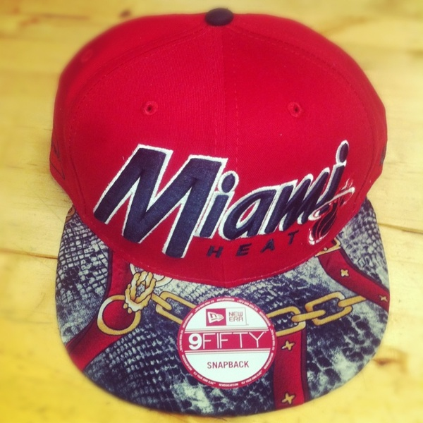 This #miami #heat #snapback is selling fast.. Cop today urusai.bigcartel.com 