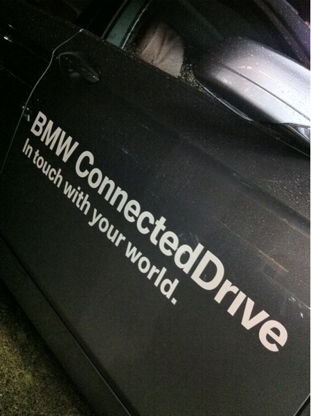 BMW #ConnectedDrive: In Touch With Your World