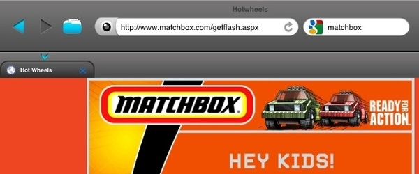 I&#039;m on the Matchbox site and they have the page titled as Hot Wheels. 