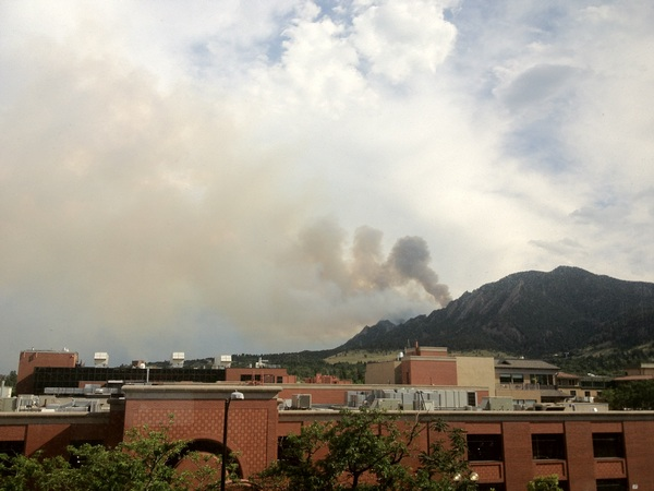 Not looking better at all... #BisonFire #Boulder