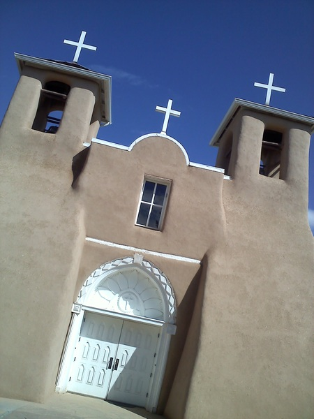 #Wedding day at famous St. Francis in #Taos, #NM! #photographer