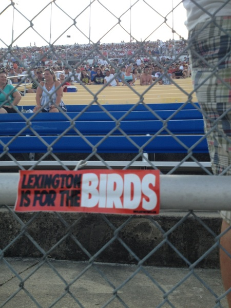 #LexingtonIsForTheBirds #L1C4 #CardNation #UofL @kySpeedway
