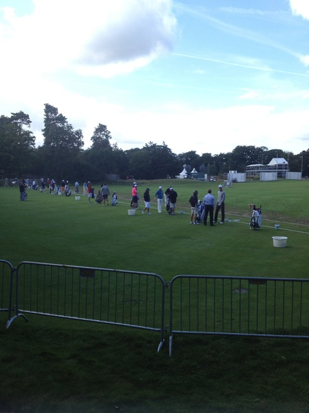 Let's watch some great golf in real life !! #klmopen