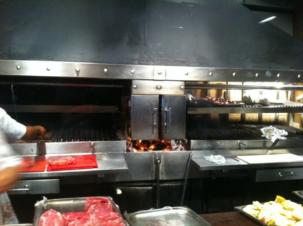 Buenos Aires: Cabaa Las Lilas: already drooling over the wood-fired grills!