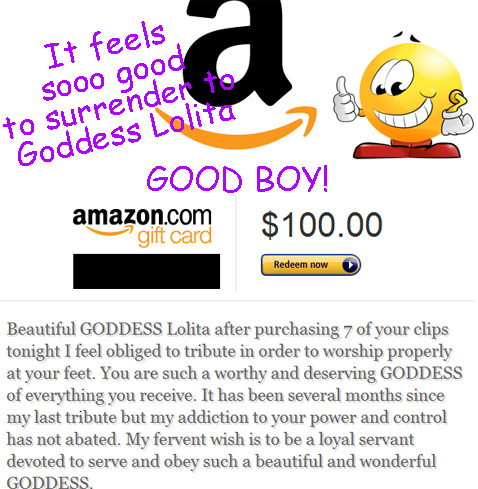 Mmmm.... and another one! I love boys like this. : ) So mindless, so addicted, so weak.