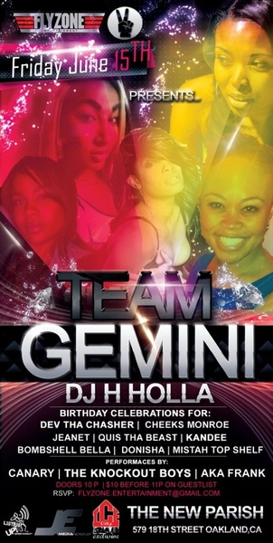 My Lil Gemini #Flyzone Sis @mrs_gipson Keepin it Lit Tomorrow for her Bday #TeamGeminiBdayBash @TheNewParish