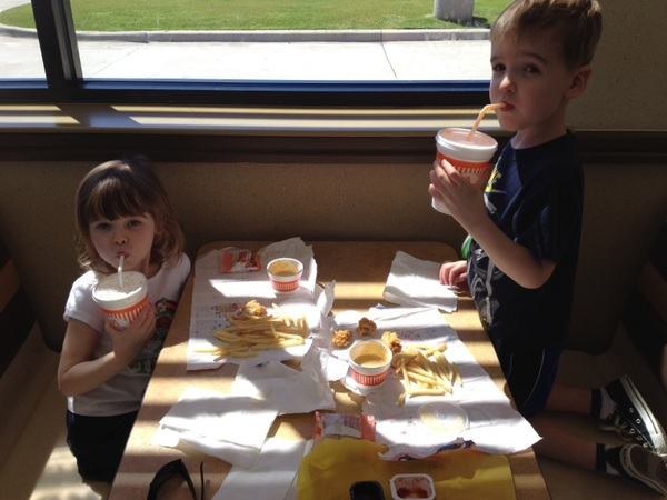 @Whataburger my 4 yr old twins love it, too!  I have your ketchup t-shirt, when can I get the spicy version?