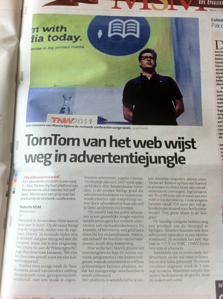 Nice! De TomTom van het web. @Marvia @jonsjanssens in DePers