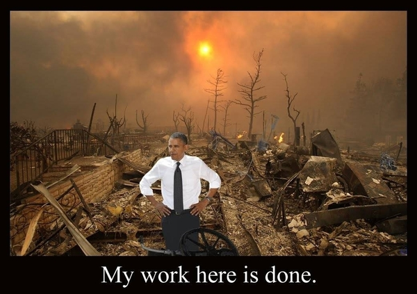 obama destruction of america