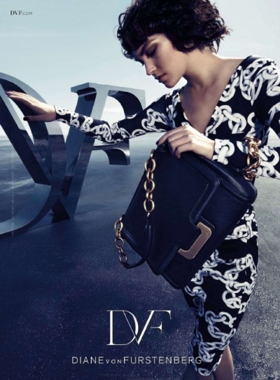 Arizona Muse stars in DVF FW12 campaign