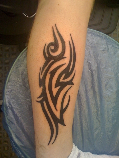 Tribal Leg Tattoo For Women
