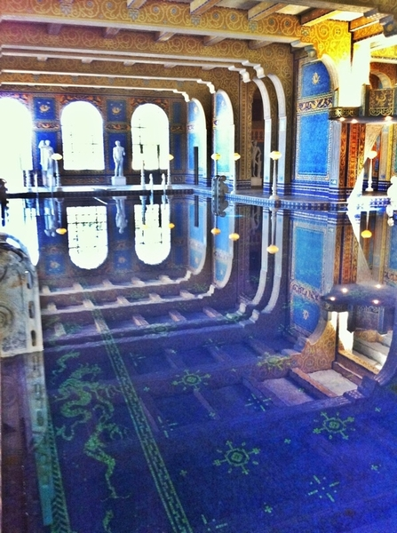 And the indoor pool from mr.hearst&#039;s castle
