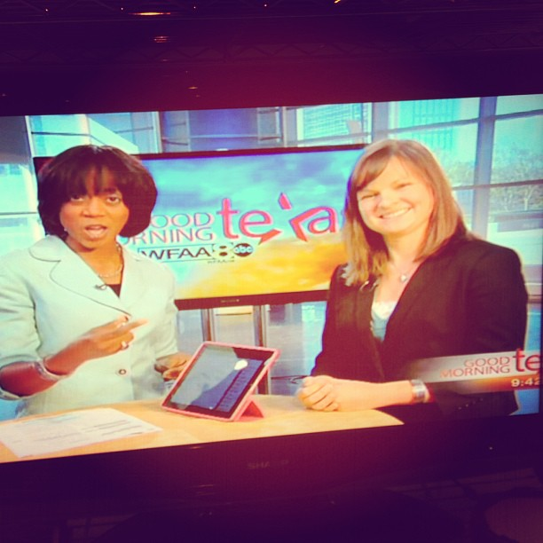 Love seeing @agardina #REPRESENTING tech-speak, gadgets & privacy post #sxsw on #GMT