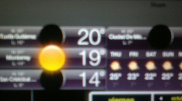 mi weather channel Drogadoo!.. sí sí 12am y en #mty hay Soool!!!