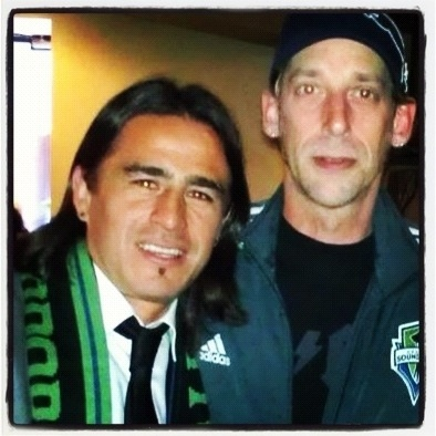 Nice to have @mdr7 back today! GO #Sounders! FIGHT, and WIN! #EBFG