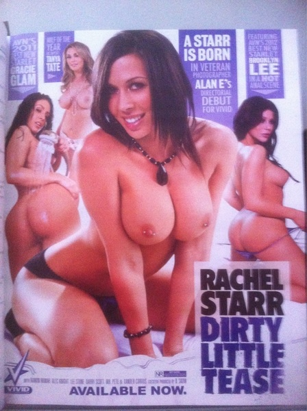 Fantastic! My directorial debut for @vivid just came out! RACHEL STARR: DIRTY LITTLE TEASE starring @RachelStarrxxx  RT