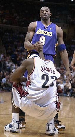 Happy Birthday @Lakers Kobe Bryant - 34 today - hope you get some today - #lebron #lakeshow #kingjames - RT!