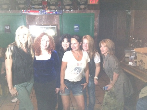 Here's @crystalchappell with some of the performers
