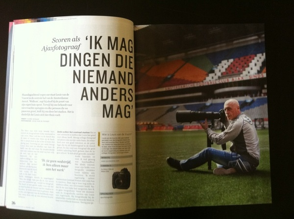 TOP!!! Ajaxfotograaf Louis Van Der Vuurst in de nieuwe @DFPro