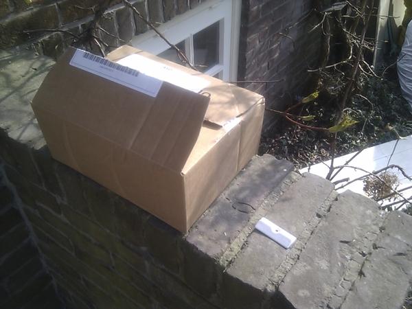 #siemens #hulde voor de levering van het onderdeel. #fail voor de verpakki