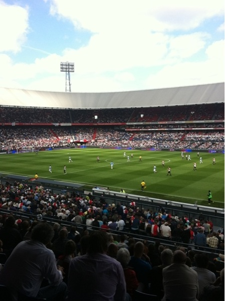 Feyenoord-Malaga! #dekuip #love010aq