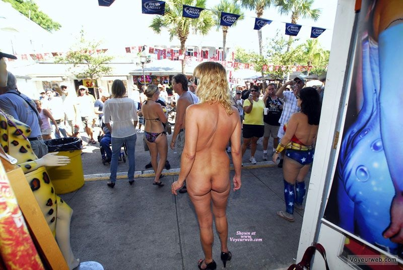 nude in the streets of key west florida
